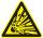 """SW02 Warnzeichen """"Warnung vor explosionsgefährlichen Stoffen"""""""