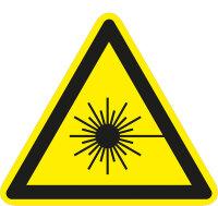 """SW04 Warnzeichen """"Warnung vor Laserstrahl"""""""