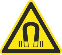 """SW06 Warnzeichen """"Warnung vor magnetischem Feld"""""""