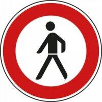 """Verkehrszeichen """"Verbot für..."""