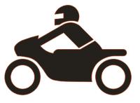 """Symbol """"Motorrad"""""""