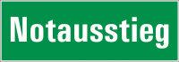 """SR20 Rettungszeichen """"Notausstieg"""""""