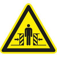 """SW19 Warnzeichen """"Warnung vor Quetschgefahr"""""""