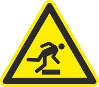 """SW07 Warnzeichen """"Warnung vor Hindernissen am..."""