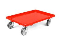 LPS-Transportroller, 600 x 400, 2 Lenkrollen und 2...