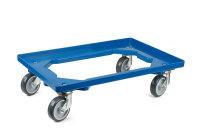 LPS-Transportroller 600x400, 4 Lenkrollen