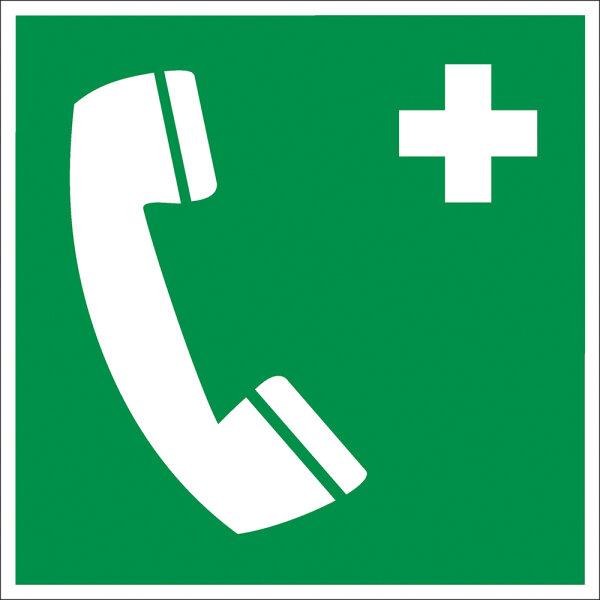 """SR10 Rettungszeichen """"Notruftelefon"""""""