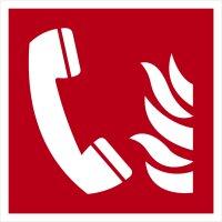 """SB03 Brandschutzzeichen """"Brandmeldertelefon"""""""