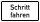 """VB14 Hinweisschild """"Schritt fahren"""""""
