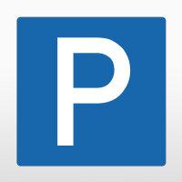 """Parkplatzkennzeichen """"Parkplatz"""""""