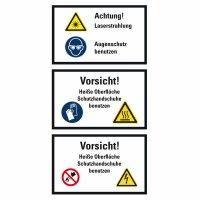 """SWK14 Warnzeichen Kombischild """"Warnung vor..."""