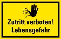 """HG05 Hinweisschild """"Zutritt verboten!..."""