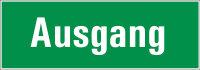 "SR19 Rettungszeichen ""Ausgang"""