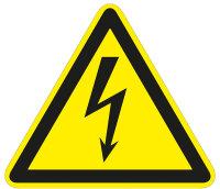 """SW12 Warnzeichen """"Warnung vor elektrischer..."""
