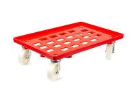 LPS-Transportroller, 600x400, 4 Lenkrollen