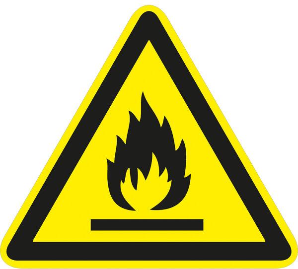 """SW25 Warnzeichen """"Warnung vor brandfördernden Stoffen"""""""