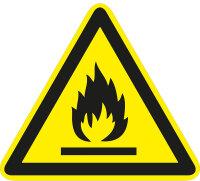 """SW25 Warnzeichen """"Warnung vor brandfördernden..."""