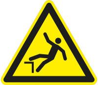 """SW08 Warnzeichen """"Warnung vor Absturzgefahr"""""""