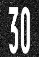 """""""30"""" Markierung"""