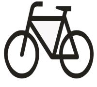 """Symbol """"Fahrrad"""""""