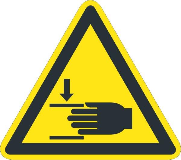 """SW24 Warnzeichen """"Warnung vor Handverletzungen"""""""