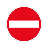 """Verkehrszeichen """"PVC antirutsch """"Verbot der..."""