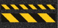Linien gelb, schwarz