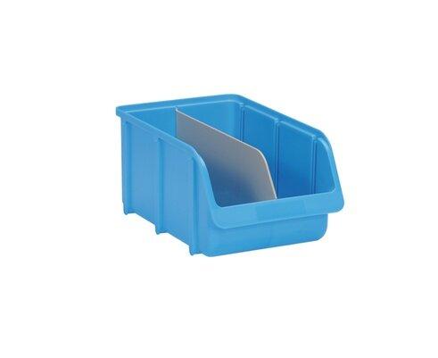 Längstrennstege für Sichtboxen PP Gr. 4 grau