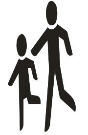 """Symbol """"Kinder 1"""""""