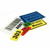 MUSTER: Lagerkennzeichnung PC Bodenmarkierungsschilder