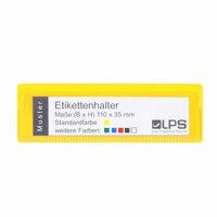 EH-01 Etikettenhalter oben offen 110 x 35 mm