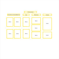 Informationsboard Starterset